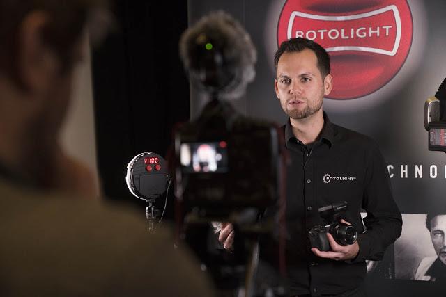 Rod Gammons - Rotolight workshop with Jason Lanier - Park Cameras - Ashley Laurence