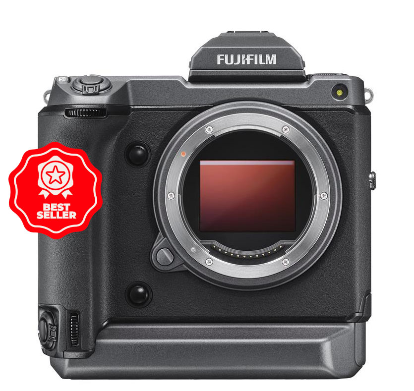 With 100MP its no surprise the Fujifilm GFX100 was best selling medium format camera