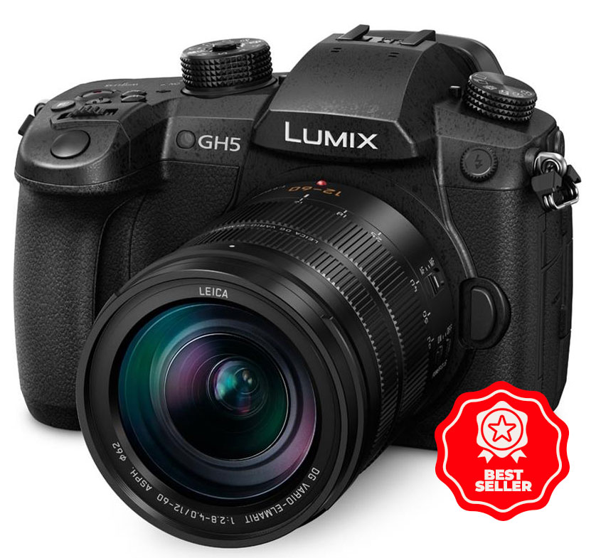 The number one selling Panasonic Lumix GH5 Vlogging camera