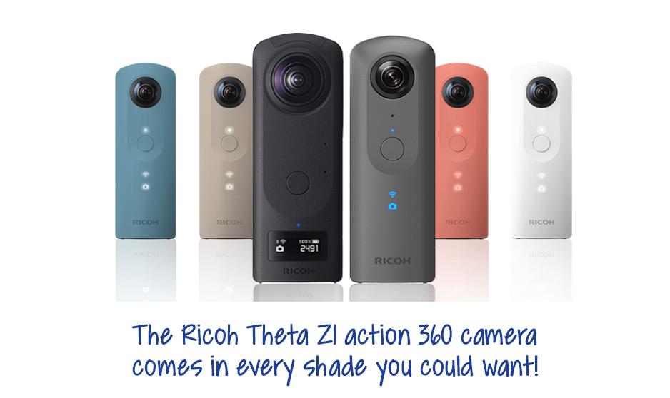 Ricoh Theta Z1 - A perfect giftRicoh Theta Z1 - A perfect gift in so many colour options in so many colour options