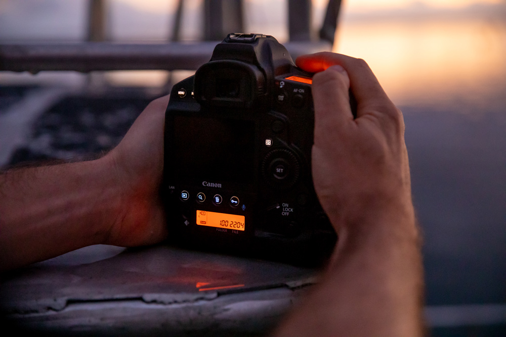 The new Canon 1DX III