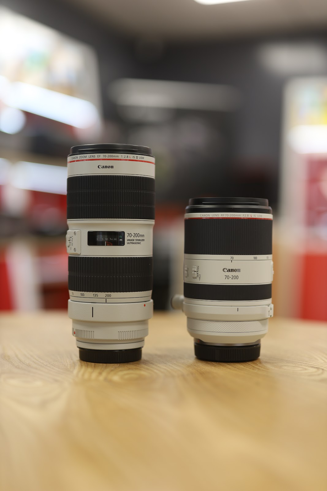 New Canon RF 70-200
