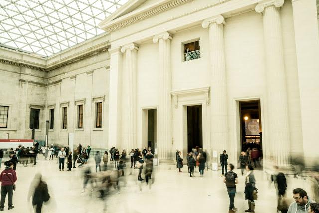 Long Exposure British Museum