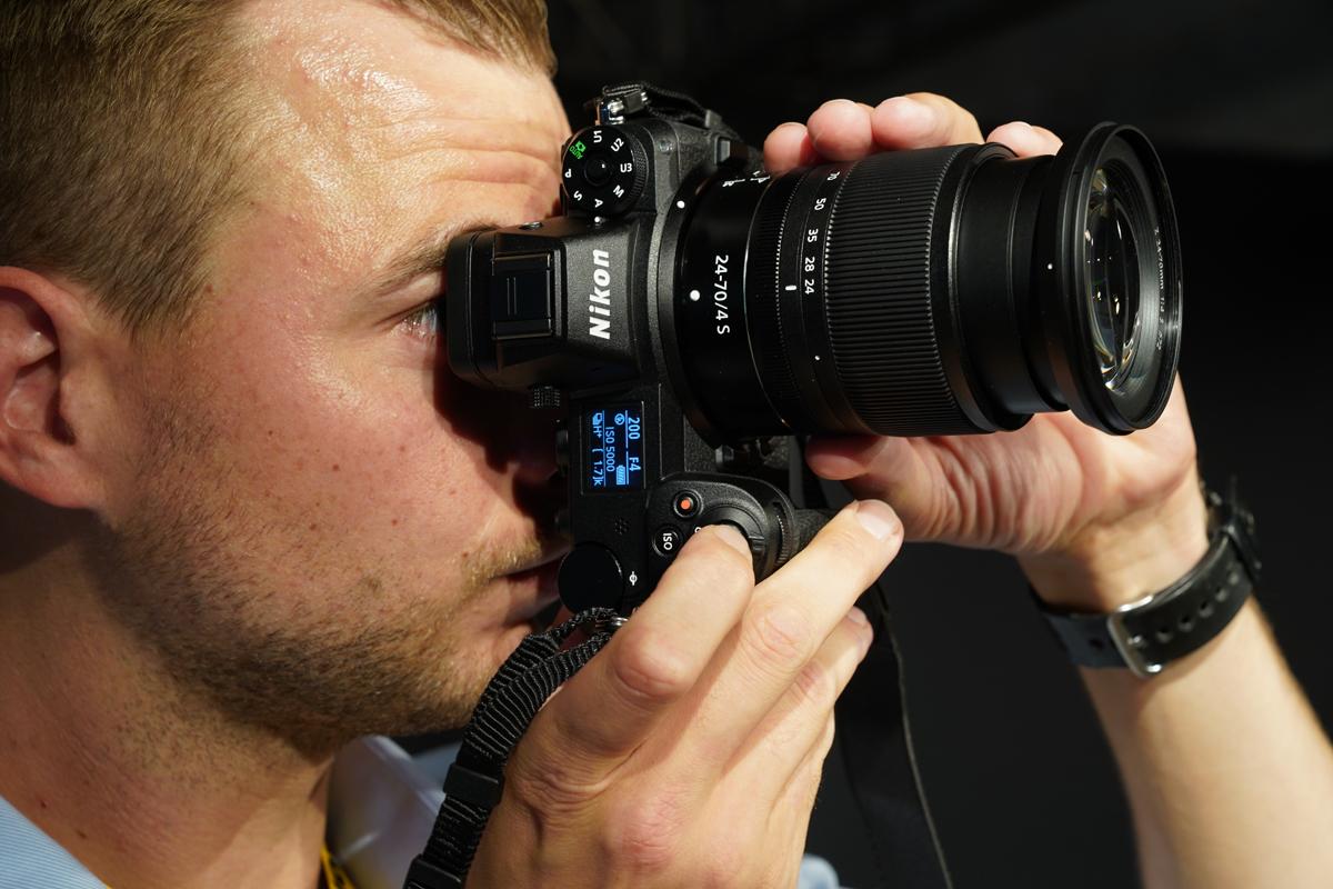 Nikon Z7 with 24/70mm f/4 lens