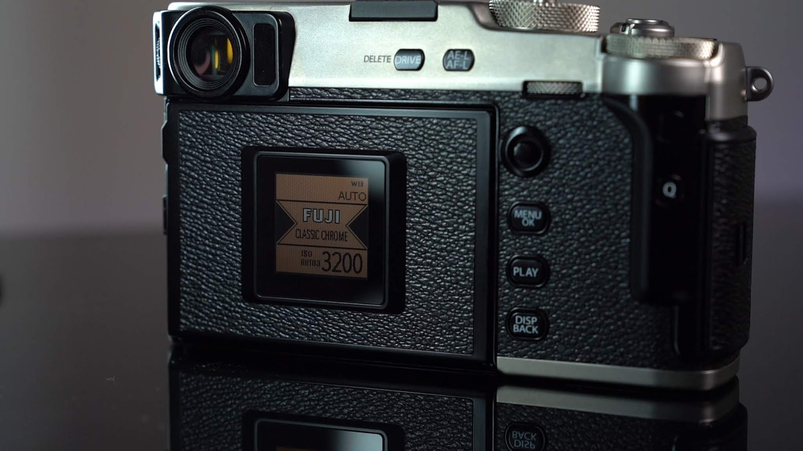 Rear Screen of the Fujifilm X-pro 3