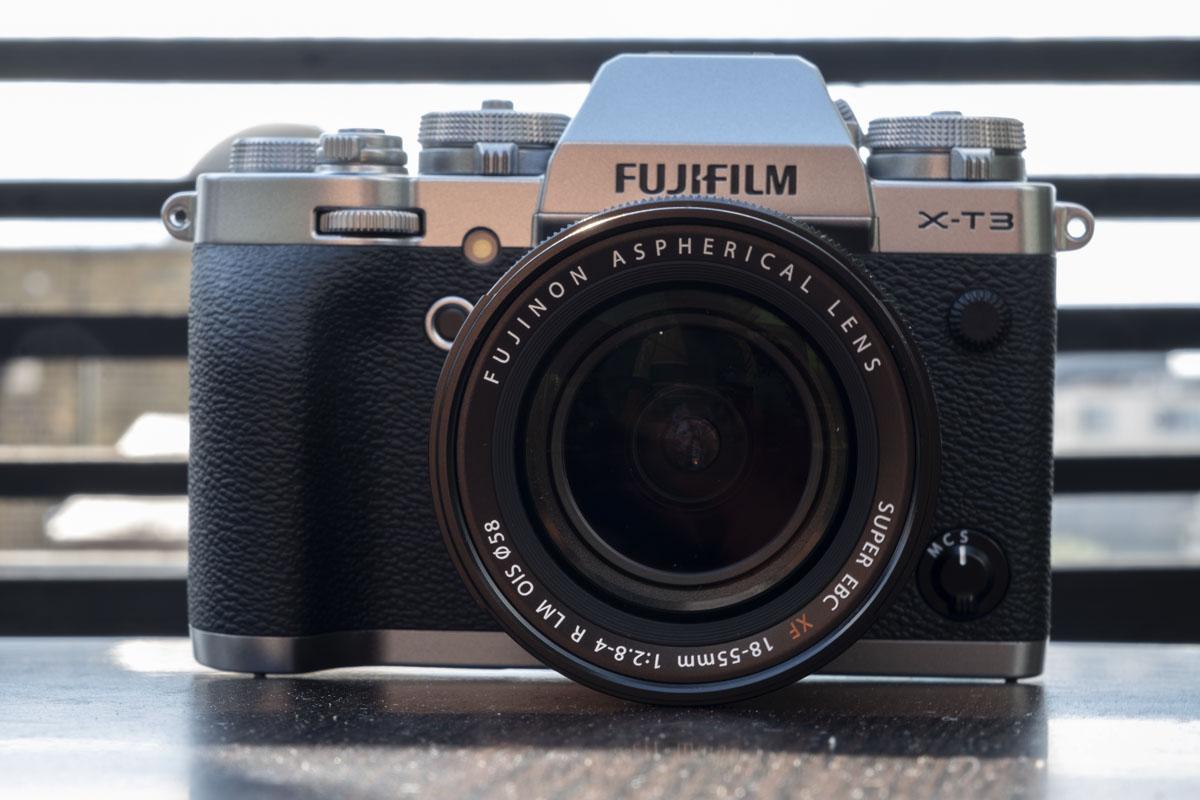 Fujifilm X-T3 in Silver finish