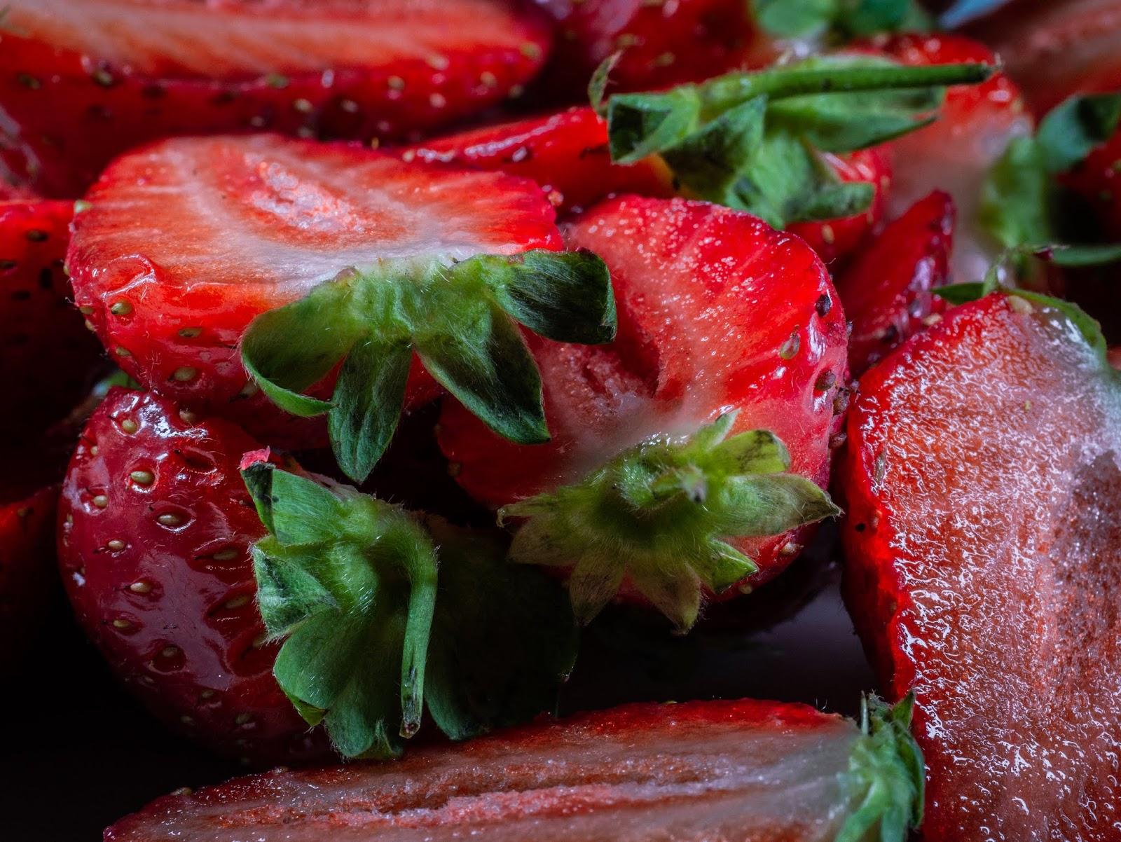 Macro Straweberries