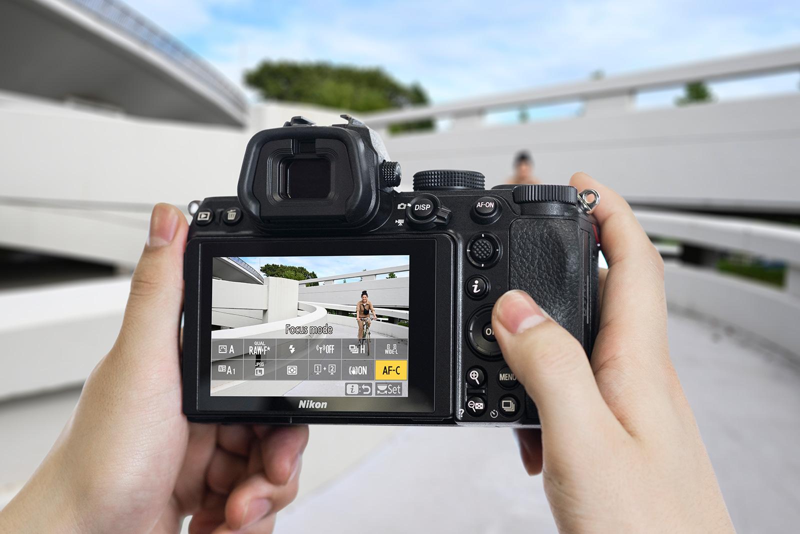 Nikon Z5 Hero image