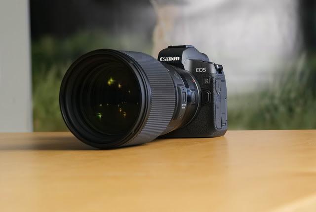 Canon EOS R Sigma 85mm