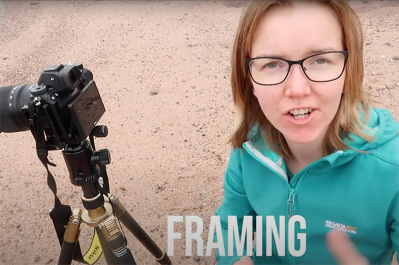 Brand ambassador talks about framing and composition