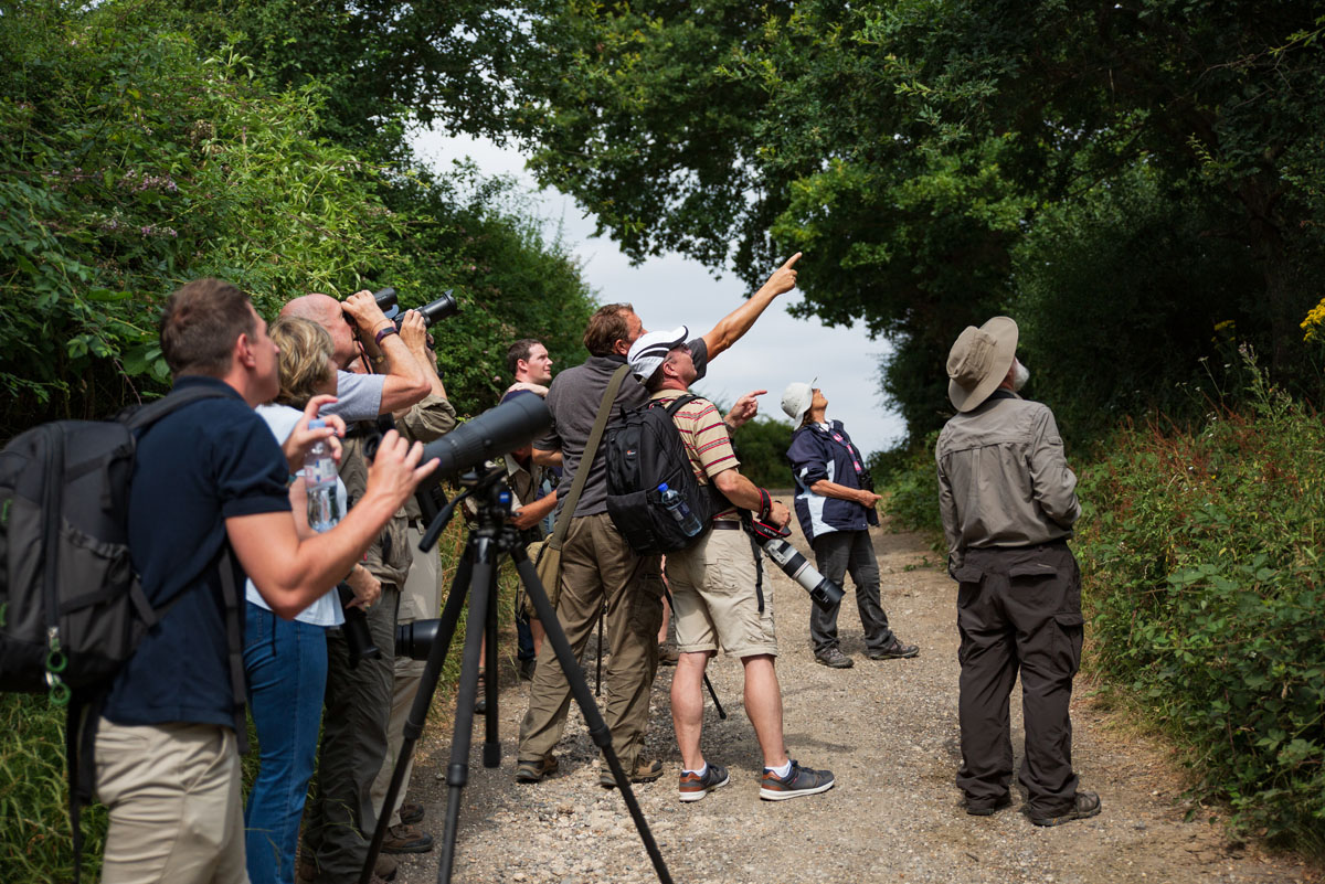 zeiss nature walk with simon king - park camera events