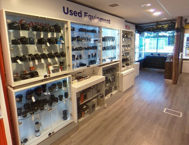 Used section of our Burgess Hill Store