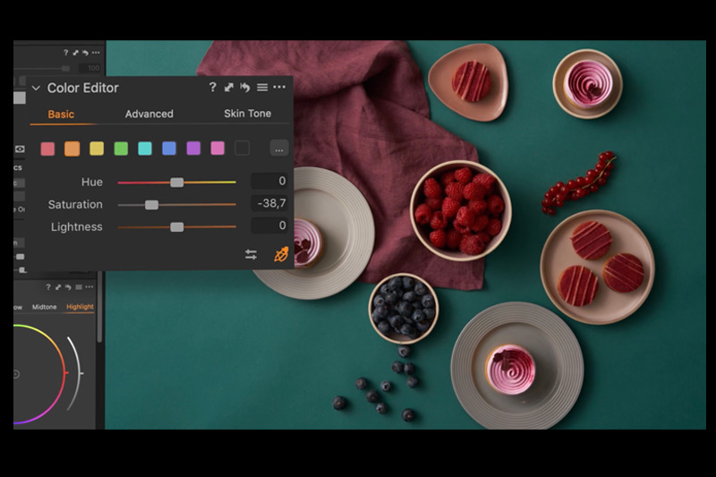 Colour management improved in pro cameras