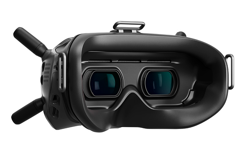 Close-up of the new FPV Goggles V2