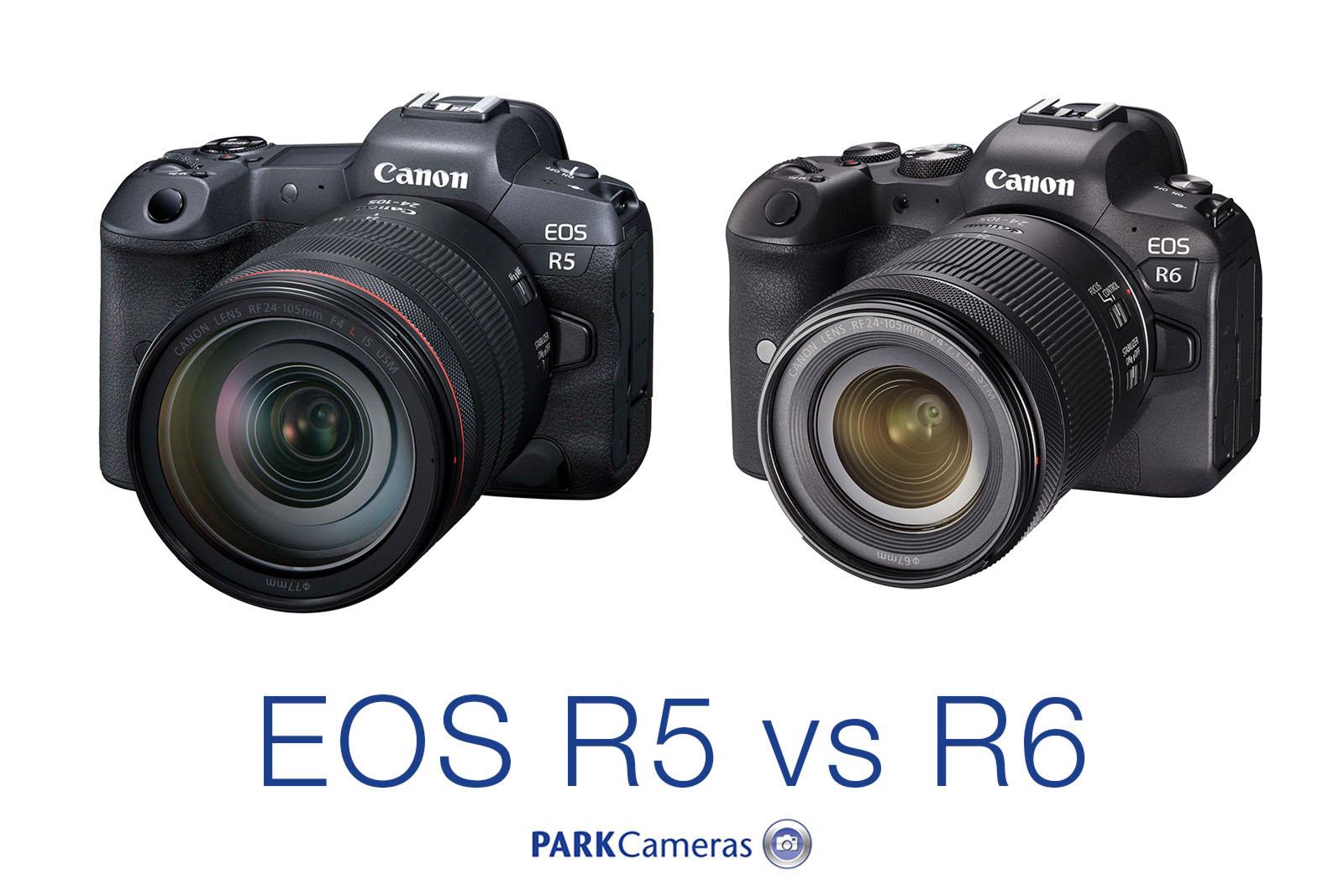 Canon EOS R5 and R6 compared