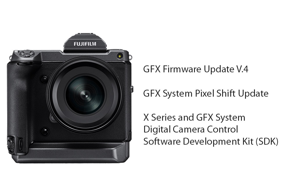 GFX 100 and other Fujifilm Software updates 2021