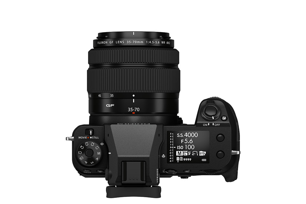 GFX 50S II with GF 35-70mm f/4.5-5.6 WR Lens attached