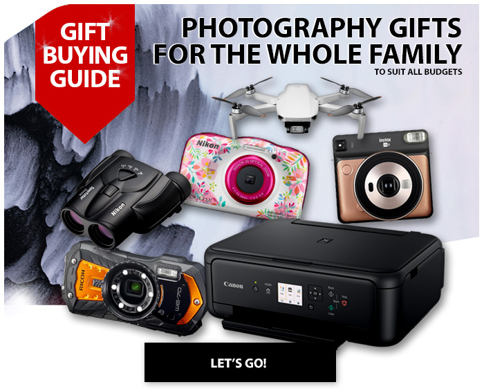 Photography gifts for the whole family