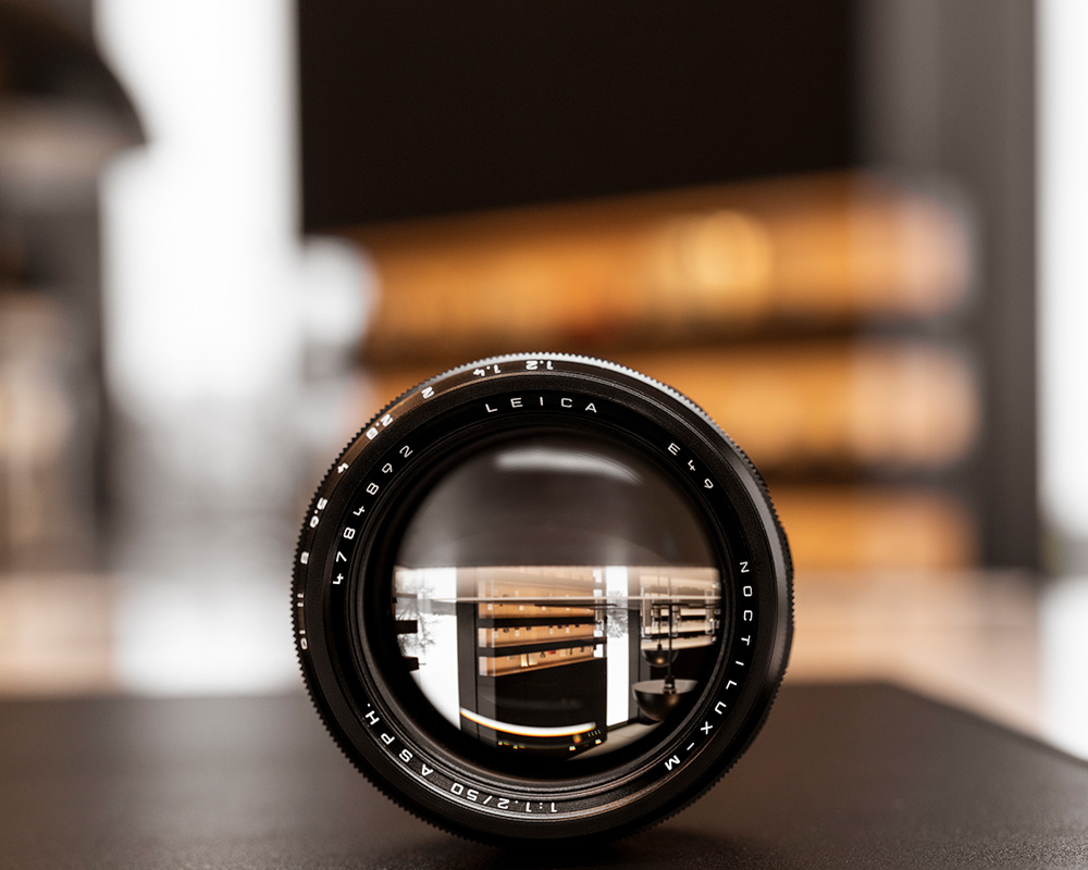 The Leica Noctilux-M50  f/1.2  wide open
