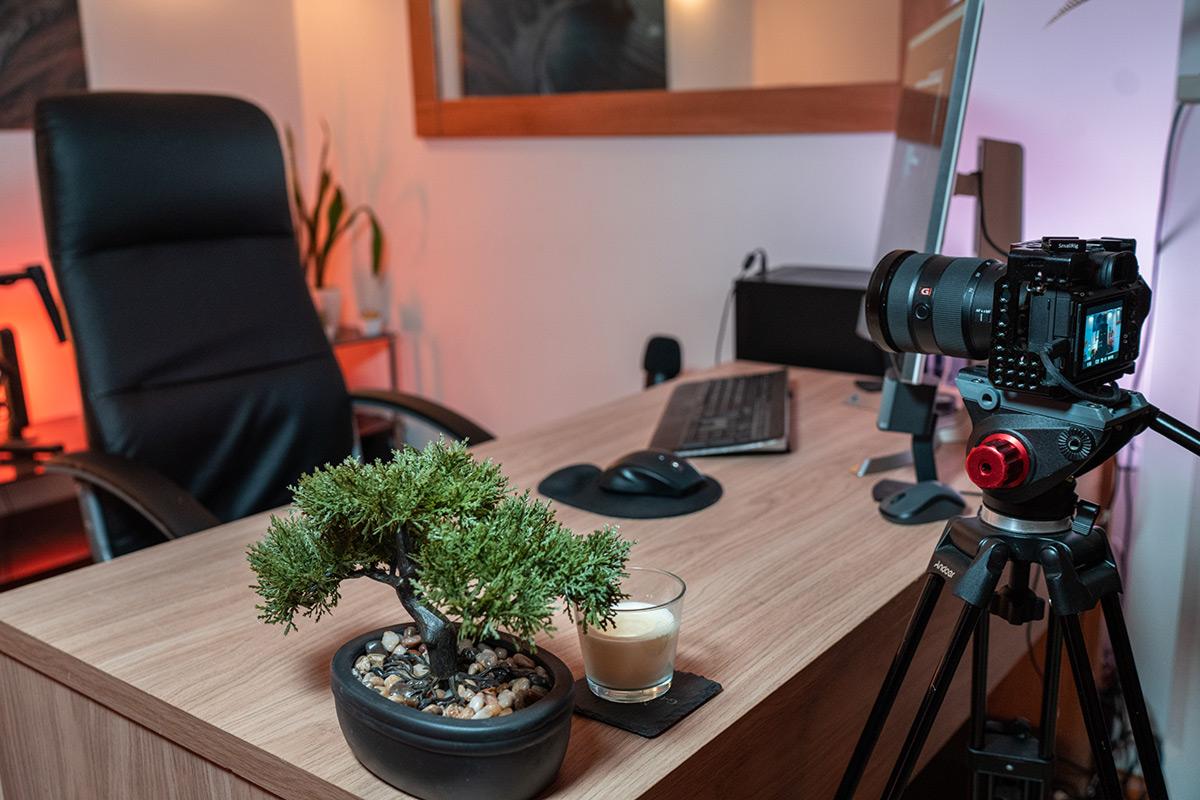 camera set-up as webcam