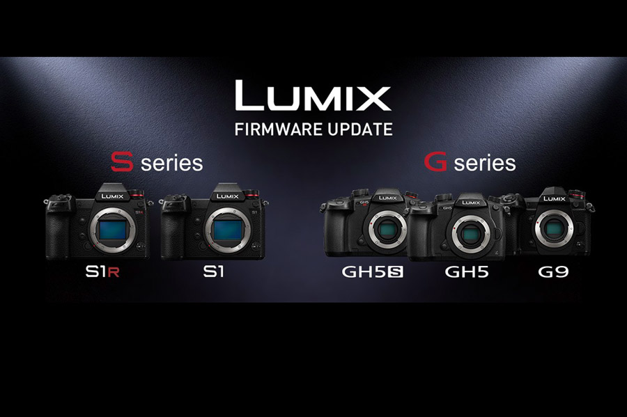Firware updates for Lumix S and G cameras