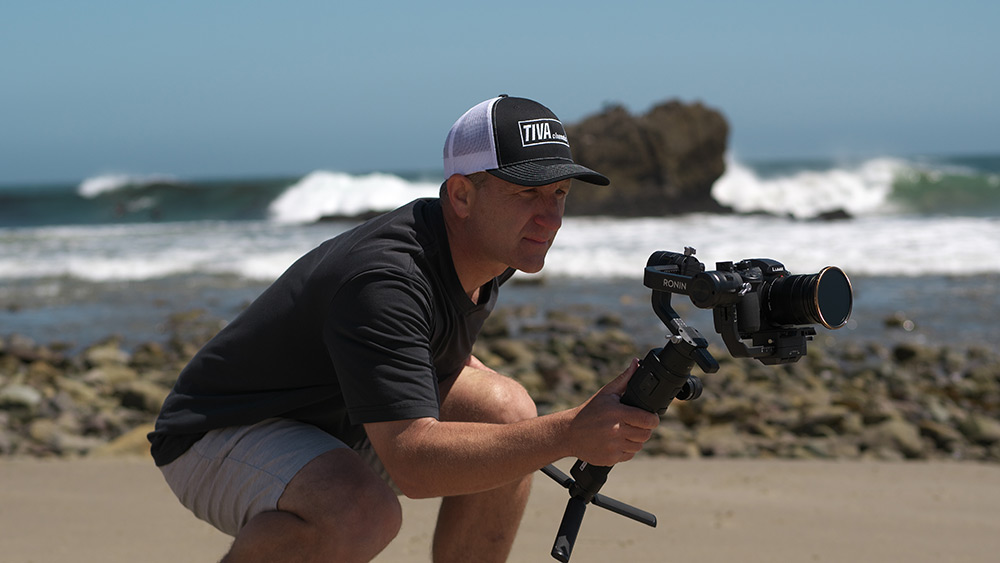 Using a gimbal for video