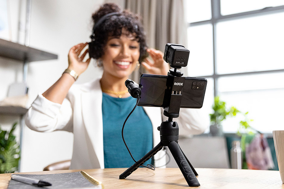 Rode Vlogger kit is a brilliant mothers day gift idea