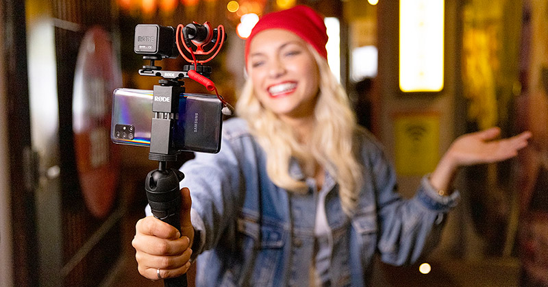 Give the gift of vlogging and live streaming