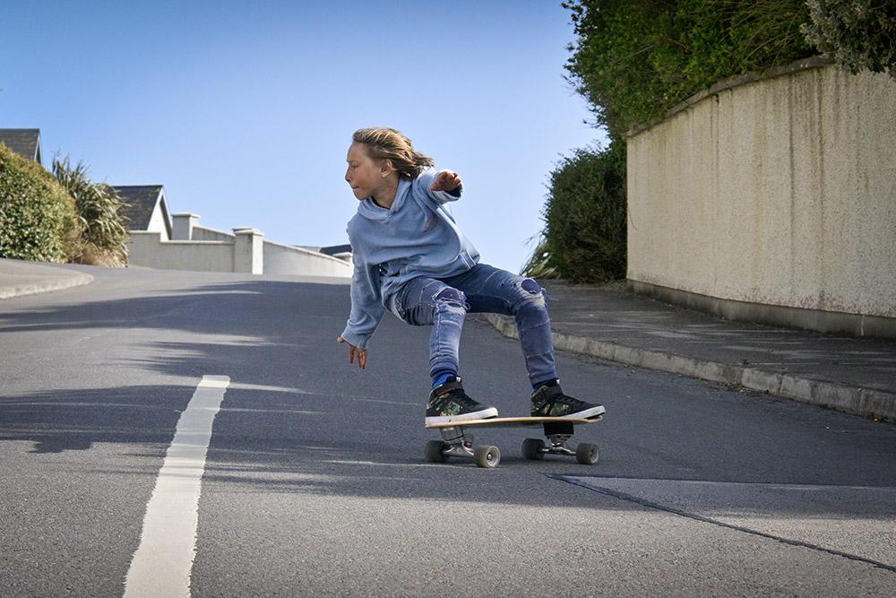 Capturing skater action with the Z fc fast AF