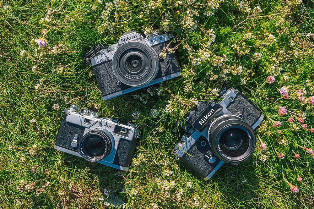 Old skool Nikon camera heaven!
