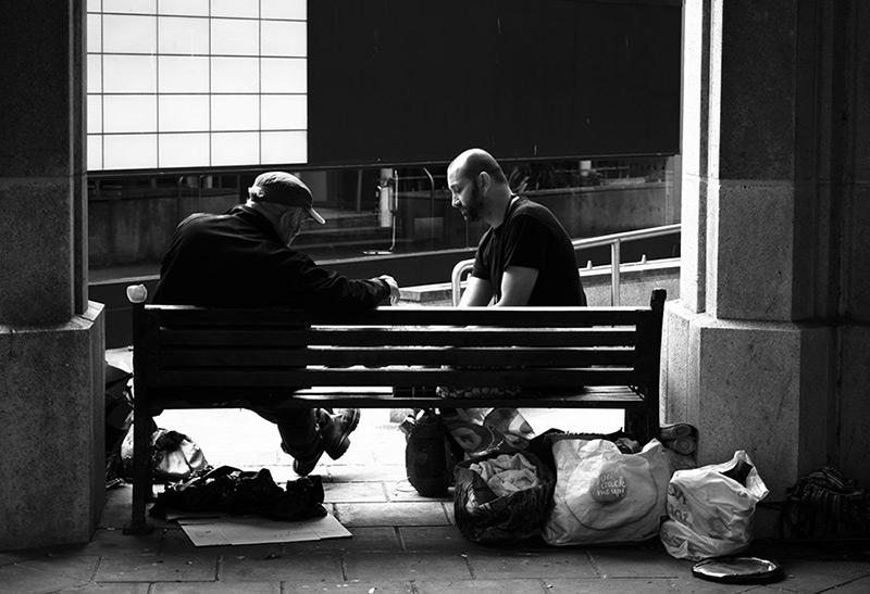 Street photography portrait