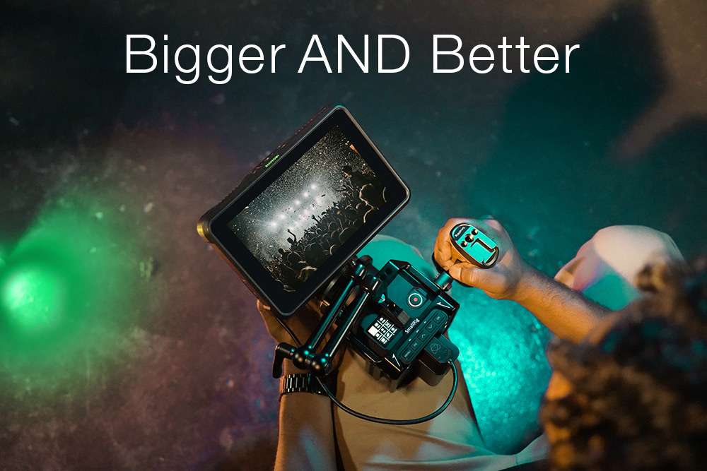 Bigger and better Atomos Shinobi 7 Specs Comparison