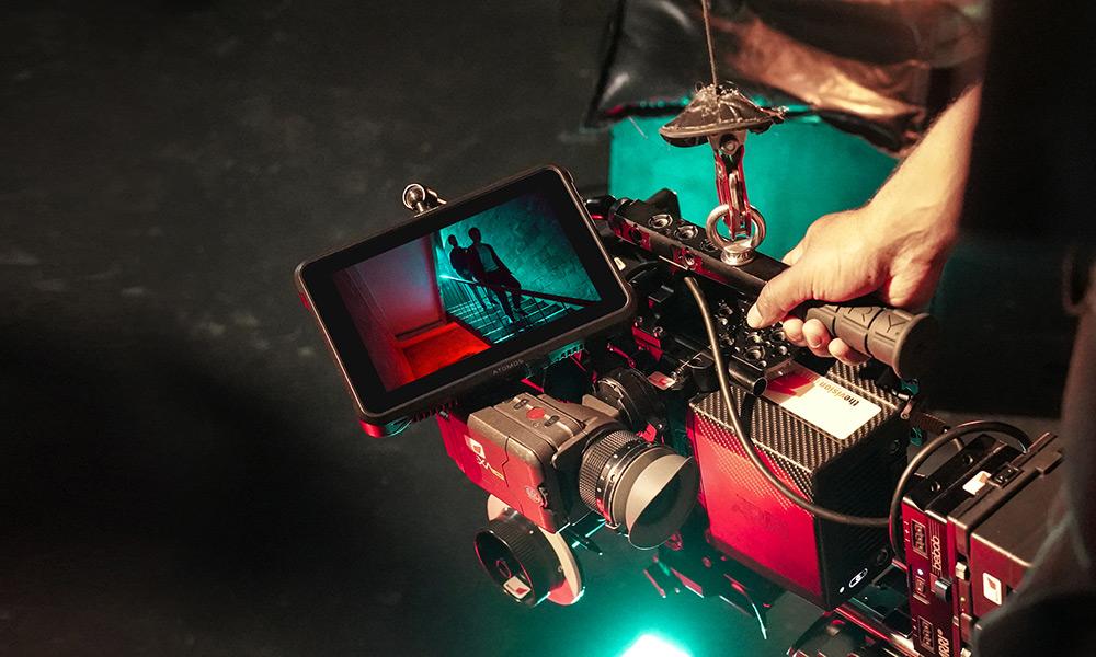 Pro video camera set-up