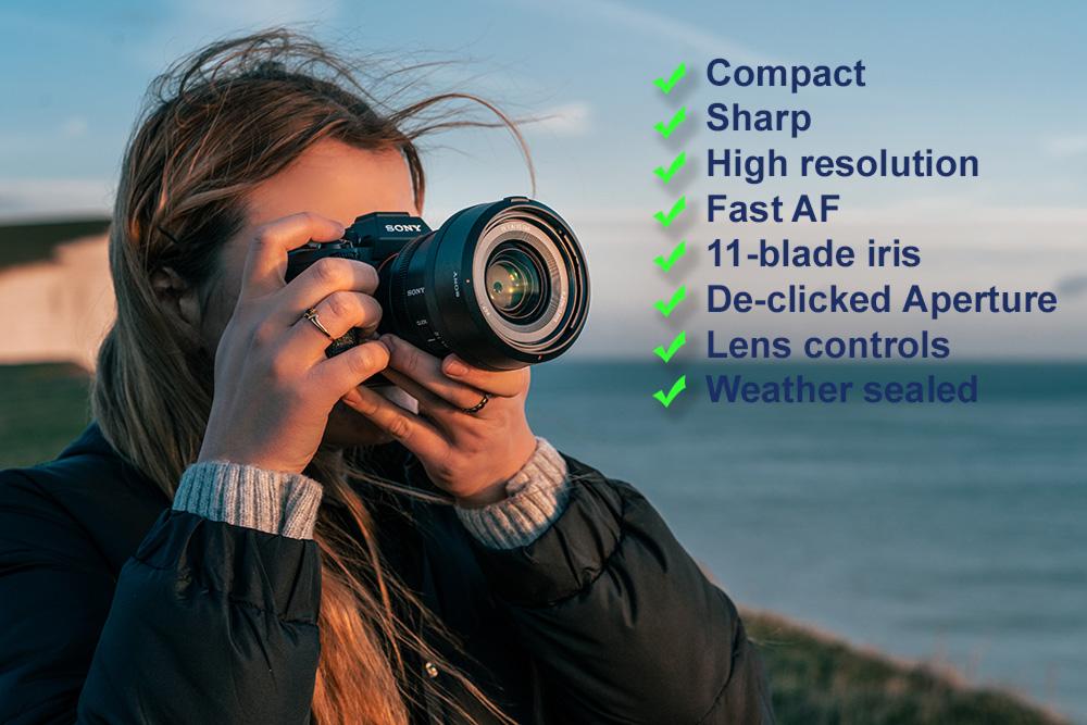 Sony FE 35mm f/1.4 GM lens review banner