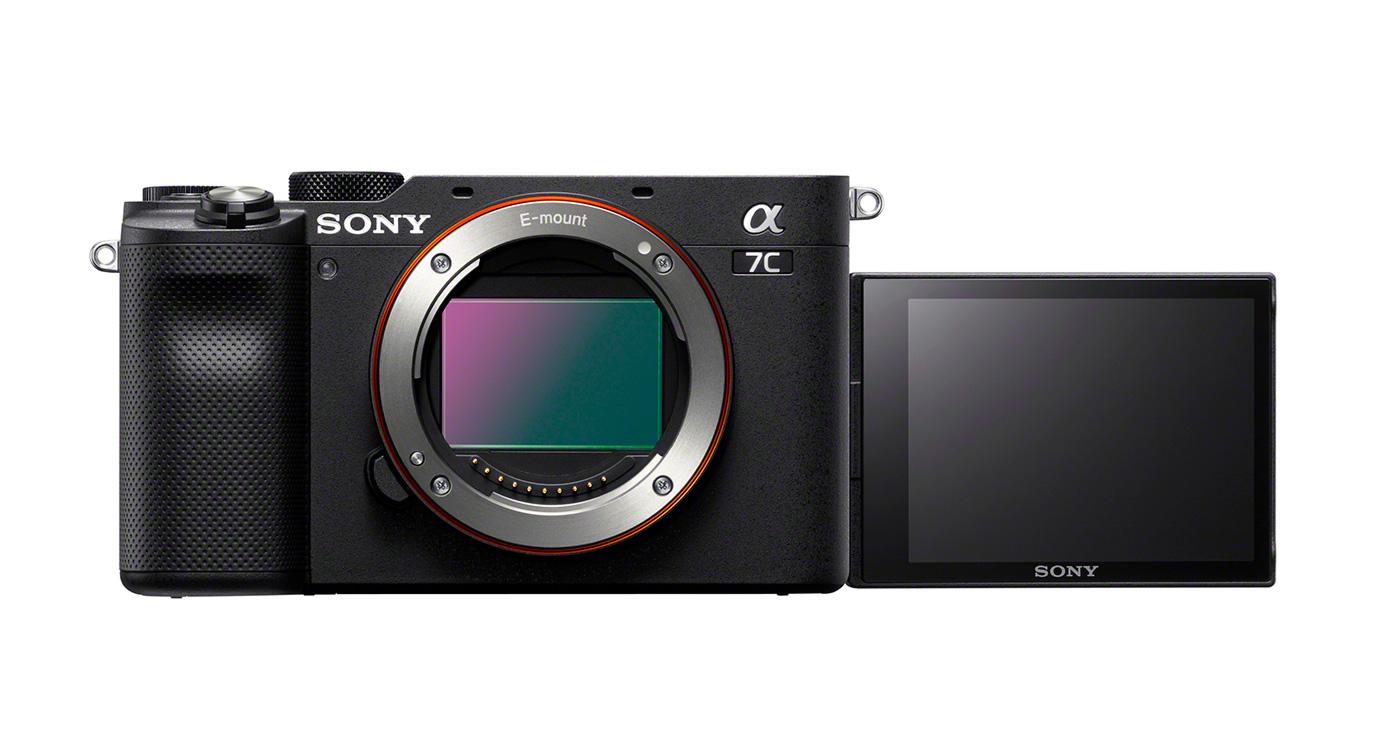 Sony A7C in black