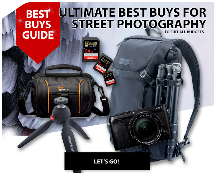 Ultimate best buys for street photography
