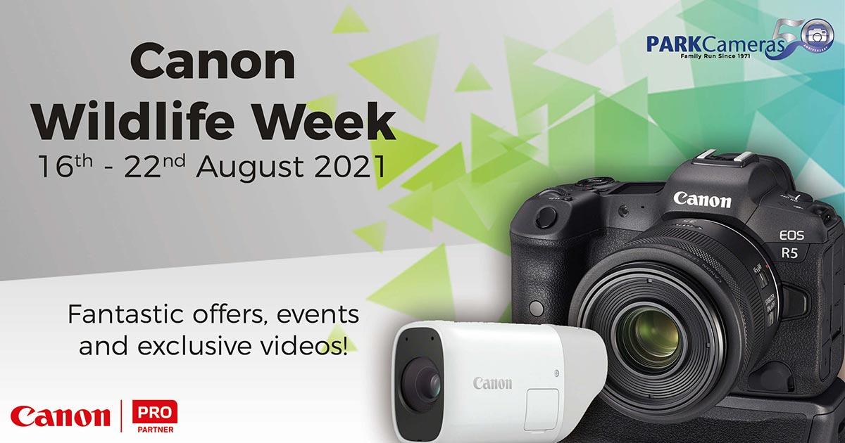 Canon Wildlife Week Header
