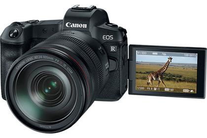 Canon announce EOS R full-frame mirrorless system