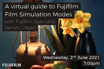 A virtual guide to Fujifilm Film Simulation Modes