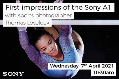 First Impressions of the Sony a1 with Thomas Lovelock