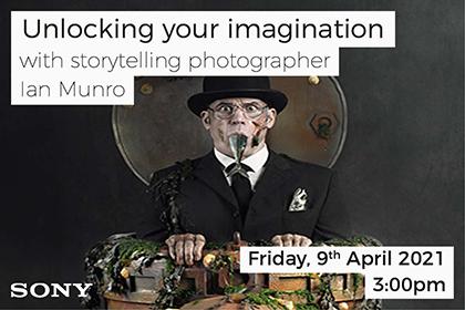 Unlocking your imagination with storytelling photographer Ian Munro