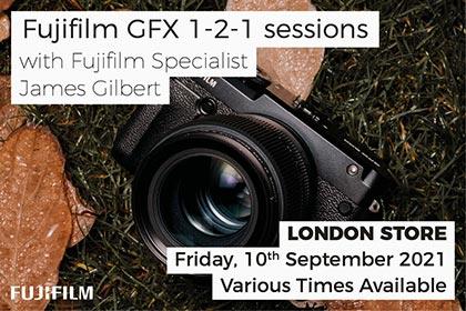 Fujifilm GFX 1-2-1 session at Park Cameras: London