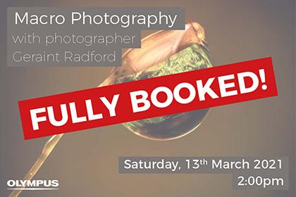 Macro Photography with Geraint Radford