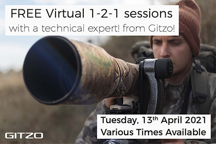 Free virtual 1-2-1 sessions with Gitzo