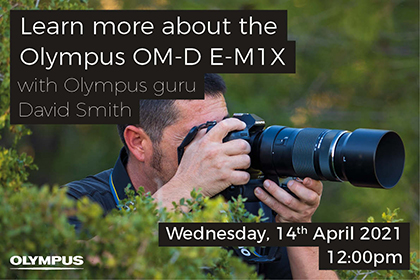 Learn more about the Olympus OM-D E-M1X