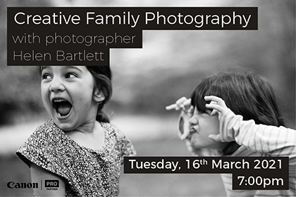 Family Photography with Helen Bartlett