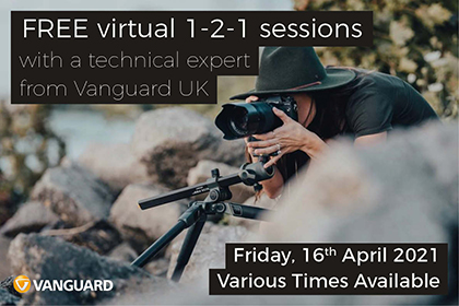 Free Virtual 1-2-1 sessions with Vanguard