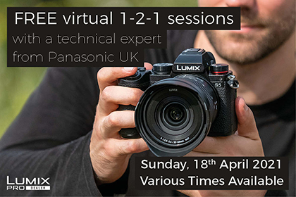 Wildlife Photography virtual 1-2-1 sessions with Panasonic