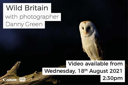 Photographing Wild Britain with Danny Green
