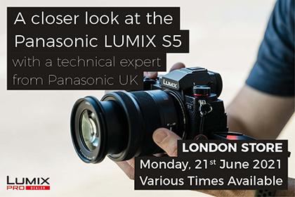 A closer look at the Panasonic LUMIX S5 - London